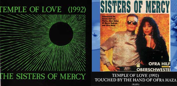 1992 THE SISTERS OF MERCY, GREATEST HITS VOL2, ?TEMPLE OF LOVE Touched by the Hand of Ofra?