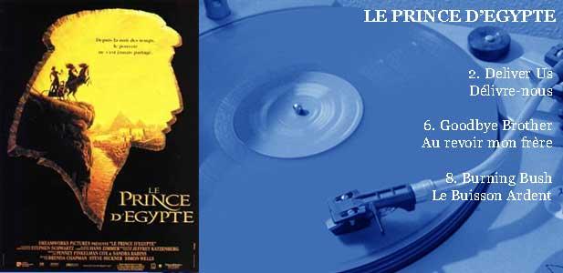 1998 THE PRINCE OF EGYPT